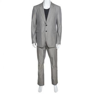 Burberry Grey Viscose Suits