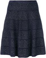 D-Exterior D.Exterior dot pattern flare skirt