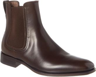 Salvatore Ferragamo Salvatore Ferramo Darian Leather Ankle Boot