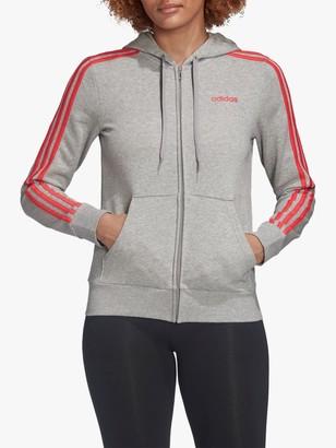 adidas Essentials 3-Stripes Full Zip Training Hoodie