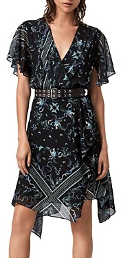 AllSaints Kaiya Assam Print Dress
