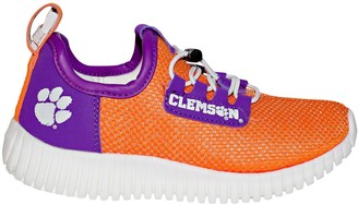 Youth Clemson Tigers KLJ1 LUMN8 Light-up Sneakers