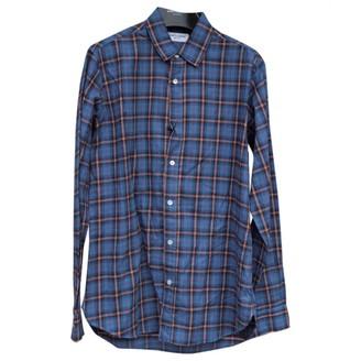 Saint Laurent Blue Cotton Shirts