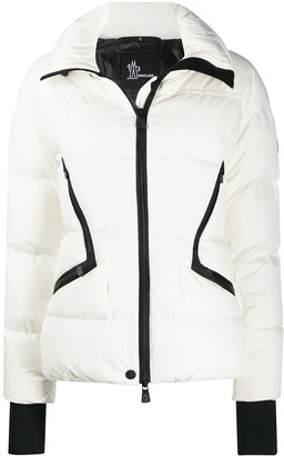 MONCLER GRENOBLE Contrast Trim Puffer Jacket