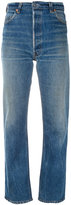 RE/DONE straight jeans - women - Cotton - 26
