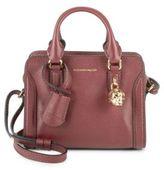 Alexander McQueen Pebbled Leather Crossbody Bag
