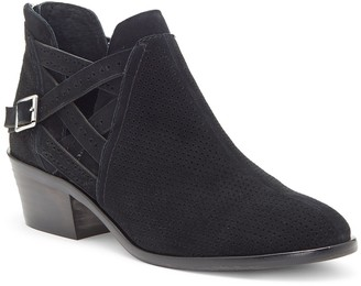 Vince Camuto Pranika Perforated Ankle Bootie