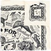 Gucci Take Out print scarf - women - Silk - One Size