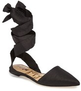 Sam Edelman Women's Brandie Lace-Up Flat