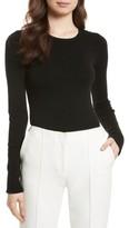 Diane von Furstenberg Women's Cutout Fitted Sweater