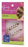 Goody Simple Styles Spin Hair Pin Colors May Vary - 2PC