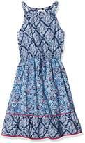 Fat Face Girl's Edith Tile Print Dress