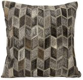 Joseph Abboud Arrowhead Chevron Square Throw Pillow