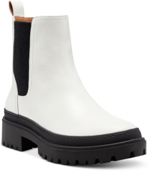 Lucky Brand Women's Emali Lug-Sole Booties Women's Shoes