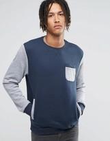 Billabong Crew Neck Pocket Sweat Sweater