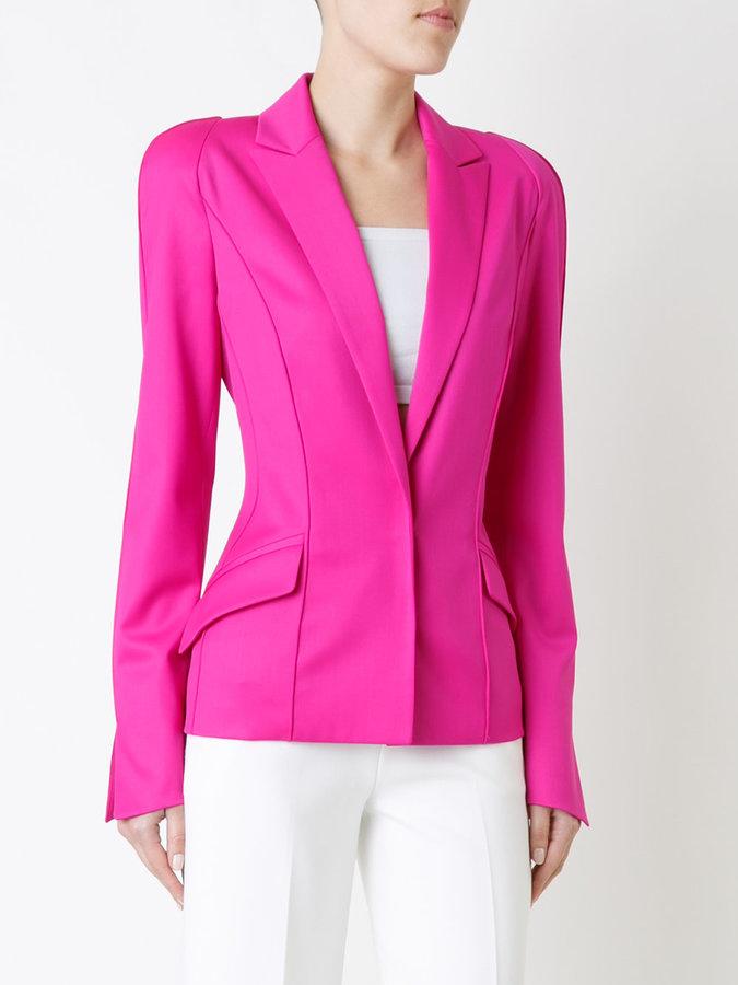 Thierry Mugler long sleeved blazer jacket