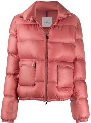 Moncler Zip-Up Puffer Jacket