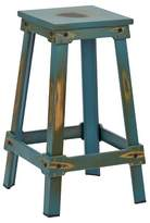 """Office Star New Castle 26"""" Barstool Metal/Antique Turquoise"""