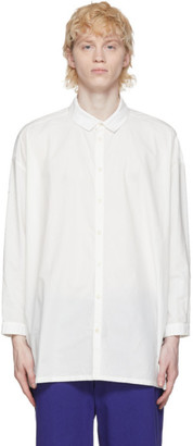 Toogood White The Draughtsman Shirt