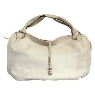 Celine White Leather Handbags