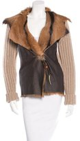 Henry Beguelin Wool and Fur Jacket