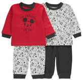 Disney George Mickey Mouse 2 Pack Pyjamas