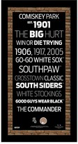 Steiner Sports Chicago White Sox Subway Sign Wall Art