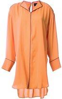 G.V.G.V. off shoulder oversized shirt