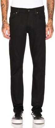 Nudie Jeans Lean Dean in Dry Cold Black | FWRD