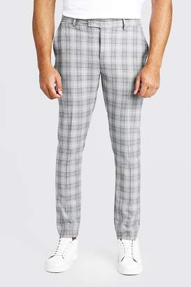 Check Skinny Fit Suit Trouser
