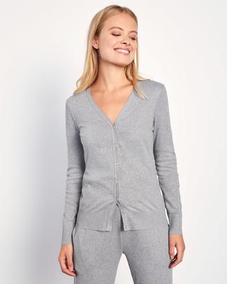 Jigsaw Jersey Cardigan Organic Cotton