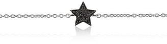 Alinka Jewellery Stasia Mini Bracelet Black Diamonds