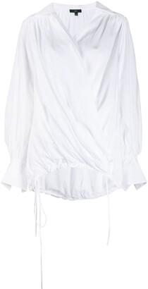 Jejia V-Neck Long-Sleeved Shirt