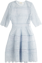 Zimmermann Adorn broderie-anglaise organza mini dress