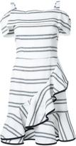 Rebecca Vallance 'Jupiter' ruffle mini dress