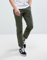 Vans Authentic Chino Trousers In Green Va3144kcz