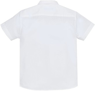 Very Boys 3 Pack Short Sleeved School Shirts - White