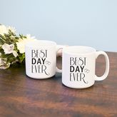 "Cathy's Concepts Cathys concepts 2-pc. ""Best Day Ever"" Coffee Mug Set"