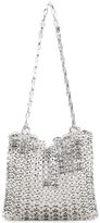 Paco Rabanne chain mail shoulder bag - women - Brass - One Size