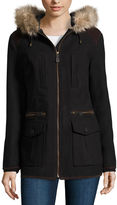 MISS GALLERY Miss Gallery Anorak Wool-Blend Coat