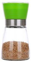 Lznlink Manual Glass Salt Pepper Grinder Seasoning Mill Shaker Spice Bottle Condiment Jar Holder Grinding Bottle Kitchen Tools