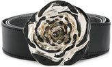 MM6 MAISON MARGIELA flower buckle belt