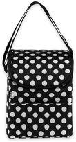Built NY Polka Dot Lunch Bag in Black/White