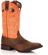 Durango Saddle Men's Two-Tone 12-in. Cowboy Boots