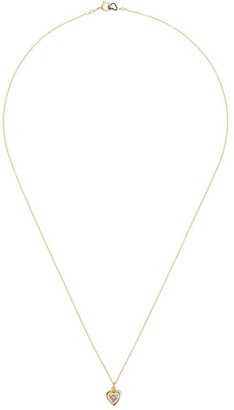 Sasha Samuel Rose Heart Charm Necklace