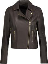Muu Baa Muubaa Harrier leather biker jacket
