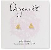 Dogeared Open Triangle Stud Earrings