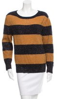 Boy By Band Of Outsiders Striped Scoop Neck Sweater