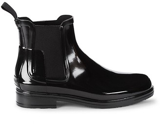 Hunter Original Refined Chelsea Gloss Rain Boots