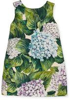 Dolce & Gabbana Taormina Sleeveless Dress, Hydrangea, Size 2-6